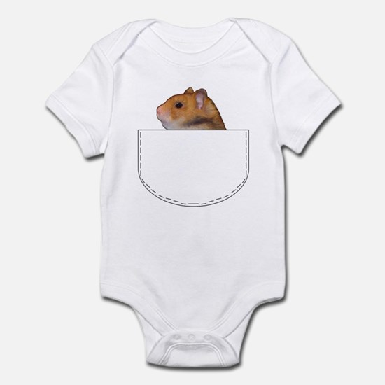 Hamster pocket pal Infant Bodysuit