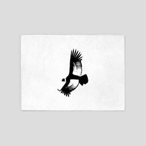 Soaring Hawk 5'x7'Area Rug