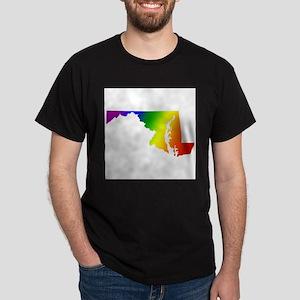Maryland Gay Pride Ash Grey T-Shirt