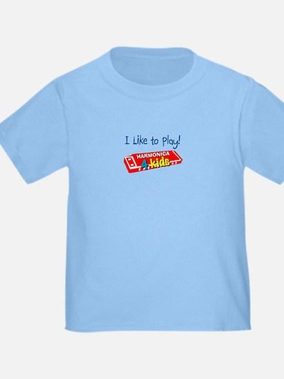 Harmonica 4 Kids.com Logo T-shirt