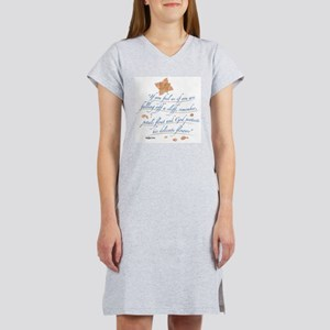 Delicate Flowers Ash Grey T-Shirt