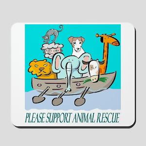 ANIMAL RESCUE Mousepad