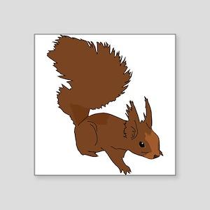 Brown Squirrel Sticker