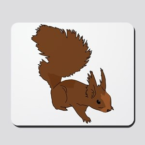 Brown Squirrel Mousepad