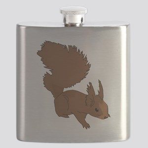 Brown Squirrel Flask