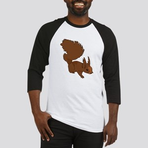 Brown Squirrel Baseball Jersey