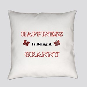 Happiness Is Being A Granny Everyday Pillow