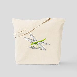 Cartoon Dragonfly Tote Bag