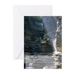 Sun Rays and Waterfall ~ Cards (Pk of 10)