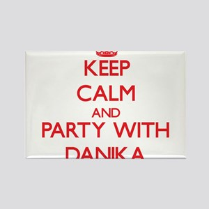 Keep Calm and Party with Danika Magnets