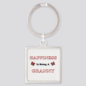 Happiness Is Being A Granny Keychains
