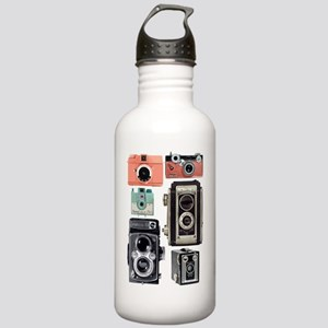 vintage cameras Stainless Water Bottle 1.0L