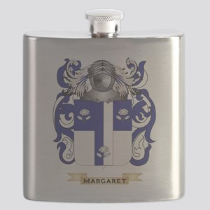 Margaret Coat of Arms - Family Crest Flask
