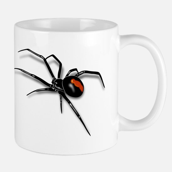 Red Back Spider Mugs
