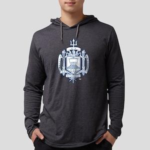 U.S. Naval Academy Crest Mens Hooded Shirt