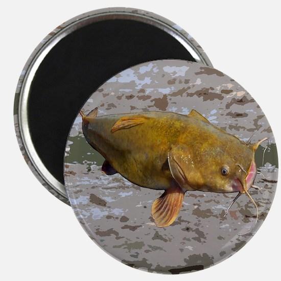 Catfish shower curtain Magnet