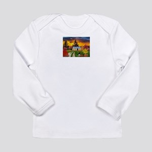 Spooky House Long Sleeve T-Shirt
