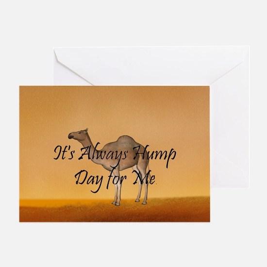 Hump Day Greeting Card