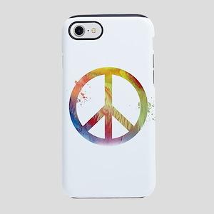 Peace symbol iPhone 7 Tough Case