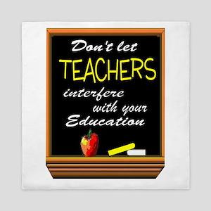 TEACHERS Queen Duvet
