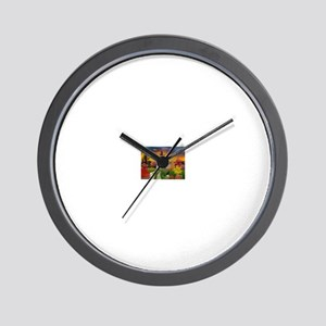 Spooky House Wall Clock