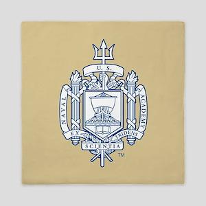 U.S. Naval Academy Crest Queen Duvet