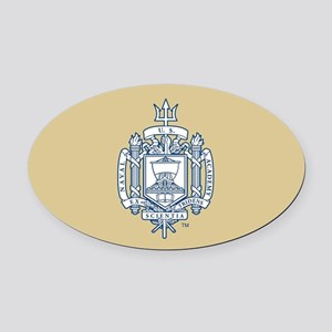 U.S. Naval Academy Crest Oval Car Magnet