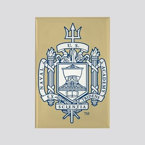 U.S. Naval Academy Crest Rectangle Magnet