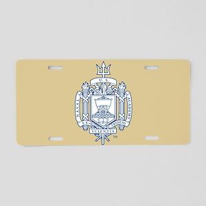 U.S. Naval Academy Crest Aluminum License Plate