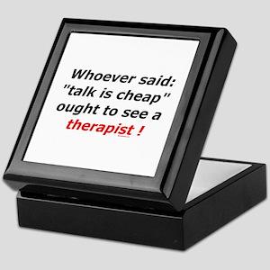 Therapist Keepsake Box