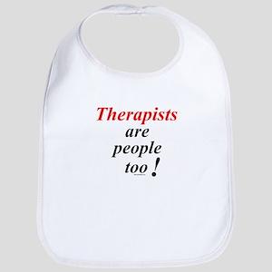 Therapist people Bib