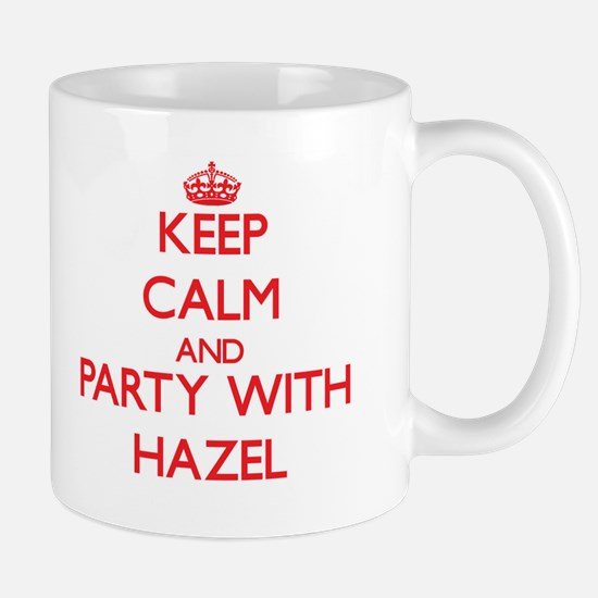 Keep Calm and Party with Hazel Mugs