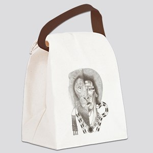 Duality of Ra Canvas Lunch Bag