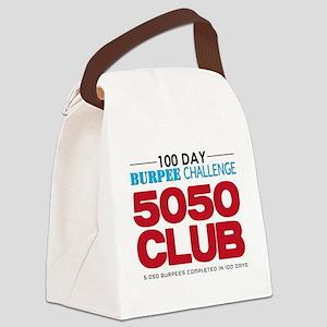 100 Day Burpee Challenge 5050 Clu Canvas Lunch Bag