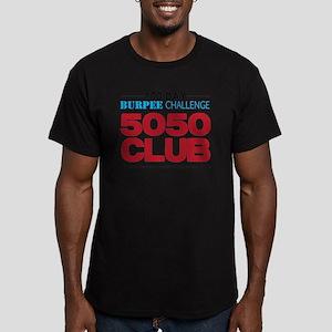 100 Day Burpee Challen Men's Fitted T-Shirt (dark)