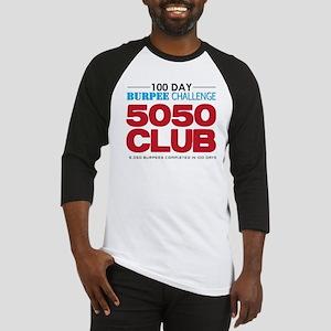 100 Day Burpee Challenge 5050 Club Baseball Jersey
