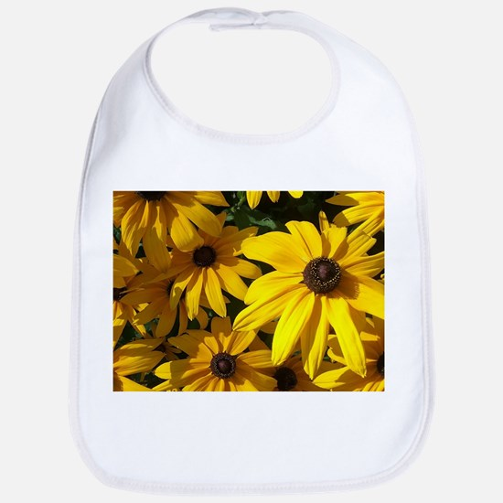 Sunflowers Baby Bib