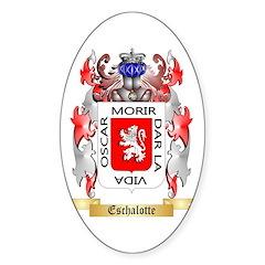 Eschalotte Sticker (Oval 10 pk)