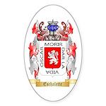 Eschalette Sticker (Oval 50 pk)