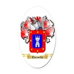 Escamilla Oval Car Magnet