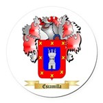Escamilla Round Car Magnet