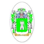 Escalera Sticker (Oval 50 pk)