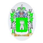 Escalera Ornament (Oval)