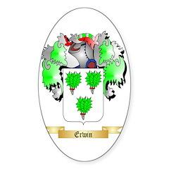 Erwin Sticker (Oval)
