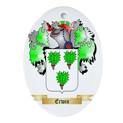 Erwin Ornament (Oval)