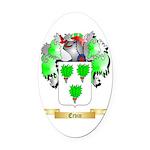 Ervin Oval Car Magnet