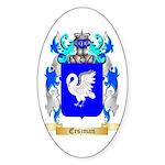 Erszman Sticker (Oval 50 pk)
