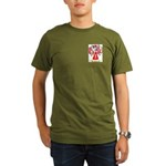 Errico Organic Men's T-Shirt (dark)