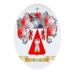 Errico Ornament (Oval)