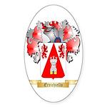 Errichiello Sticker (Oval 10 pk)